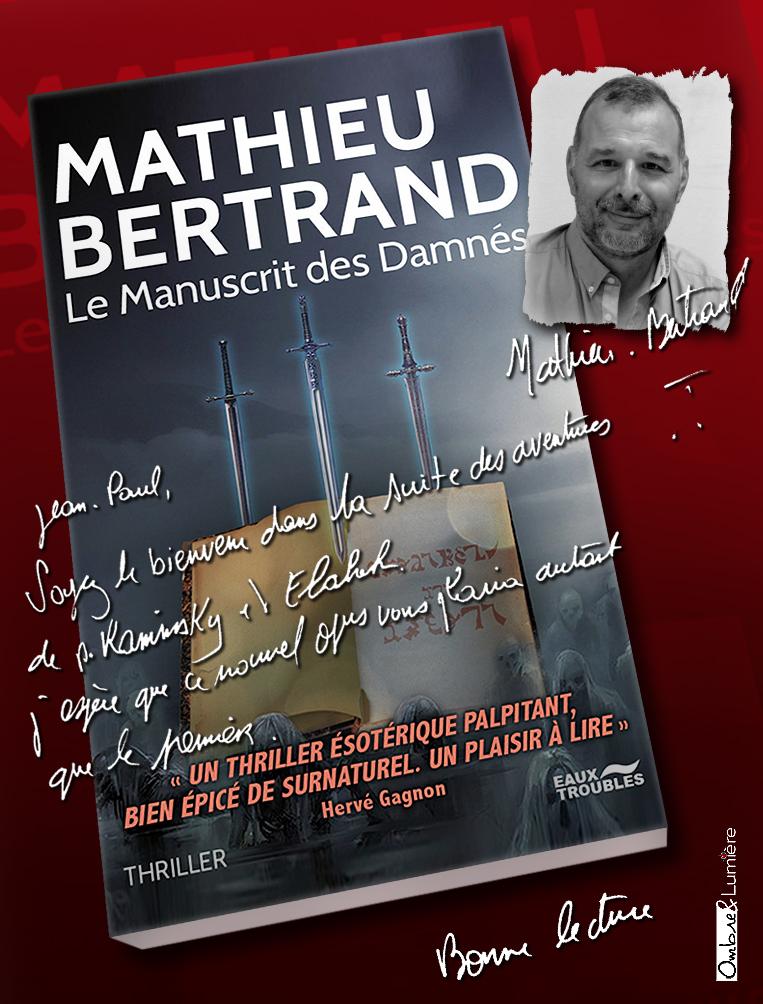 2021_071_Mathieu Bertrand - Le Manuscrit des Damnés